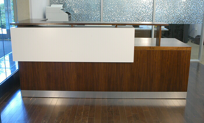 Duchamp Reception Desk