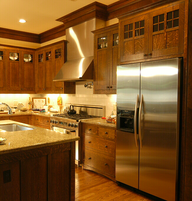 Arts And Crafts Kitchen Cabinets: Arts & Crafts Kitchen Heussner Residence 3